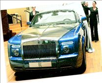 Rolls-Royce Ρhantom Drophead Coupe.   tanea.gr