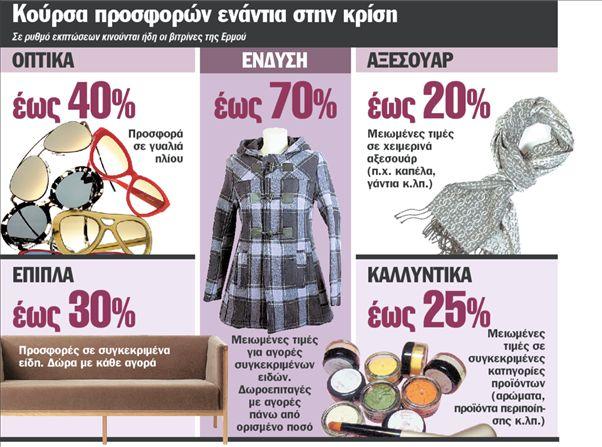 82ced0c286e Εκπτώσεις έως 70% για να σωθεί η γιορτινή αγορά - ΤΑ ΝΕΑ
