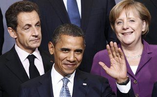 Συνάντηση Ομπάμα με Μέρκελ και Σαρκοζίγια την κρίση χρέους | tanea.gr