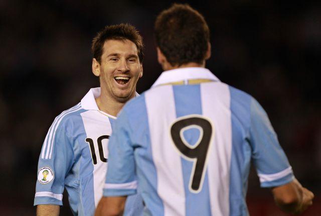 Σκόραρε ο Μέσι για  την Αργεντινή | tanea.gr