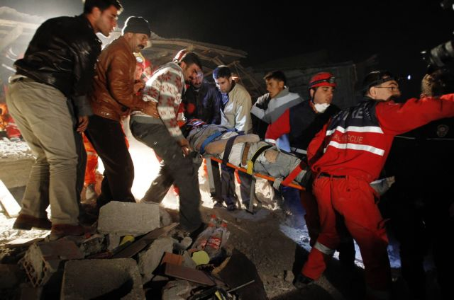 Τουρκία: Στους 432 οι νεκροί από τον σεισμό   tanea.gr