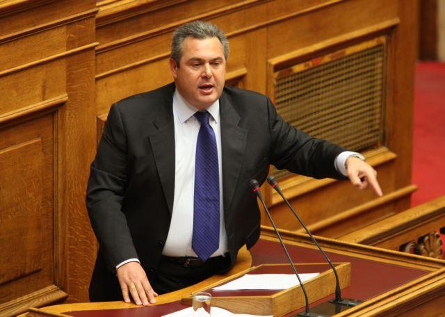 Διαγράφηκε από την Κ.Ο. της ΝΔ ο Πάνος Καμμένος, παραμένει στο κόμμα   tanea.gr