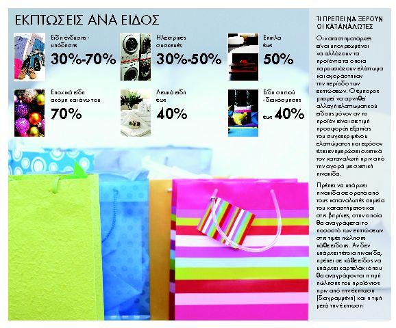 Επίσημη πρεμιέρα εκπτώσεων με τιμές μειωμένες έως 70% | tanea.gr