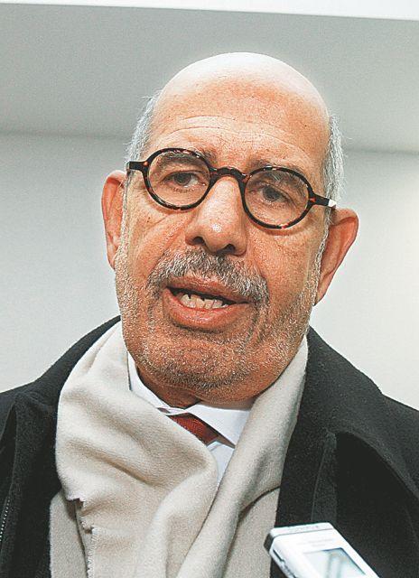 Αποχώρηση με καταγγελίες από τον  Ελ Μπαραντέι | tanea.gr