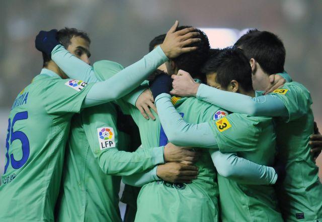 Πρόκριση με νέα νίκη για τη Μπαρτσελόνα | tanea.gr