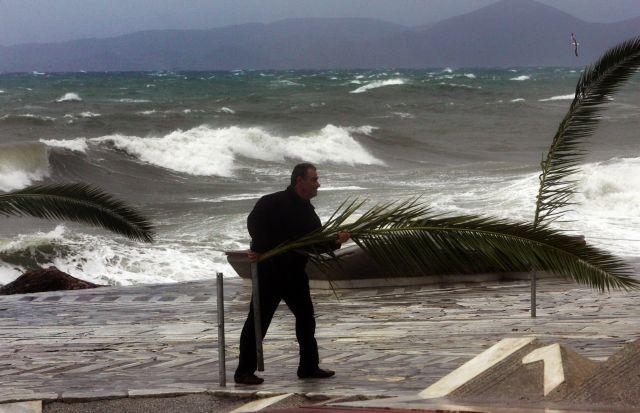 Δεκάδες κλήσεις στην Πυροσβεστική λόγω των ισχυρών ανέμων | tanea.gr