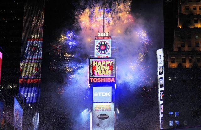 Πρωτοχρονιάτικο πάρτι σε όλο τον πλανήτη για την υποδοχή του 2012 | tanea.gr
