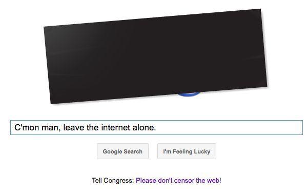 Διαδικτυακό μπλακ άουτ κατά του αμερικανικού νόμου για την e-πειρατεία | tanea.gr