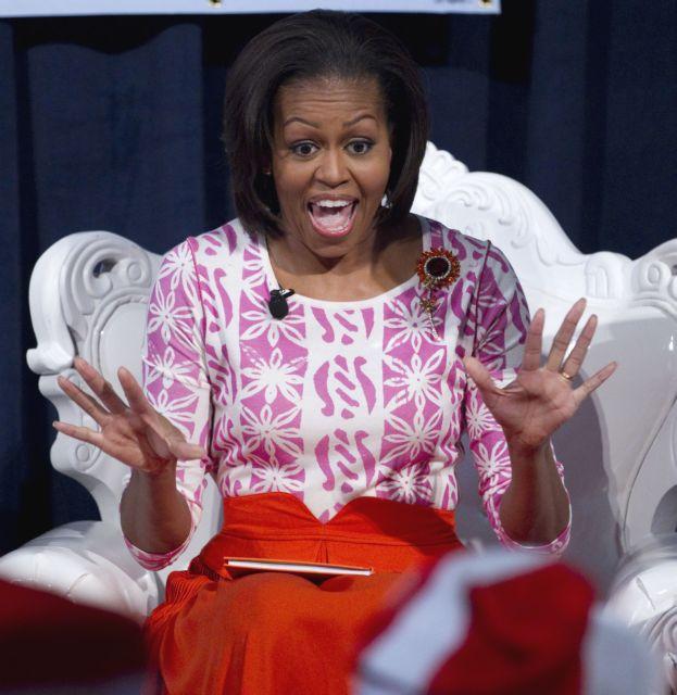 Mισέλ Ομπάμα: Δεν είμαι θυμωμένη μαύρη γυναίκα | tanea.gr