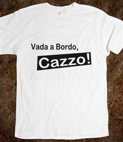 Μπλουζάκια με το «Γύρνα στο πλοίο, διάολε!» στην Ιταλία   tanea.gr