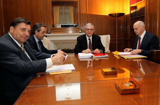 Συμφώνησαν οι πολιτικοί αρχηγοί στα νέα μέτρα   tanea.gr