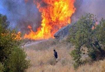 Διεκόπη η κυκλοφορία στην Ε.Ο. Αθηνών-Πατρών λόγω πυρκαγιάς | tanea.gr