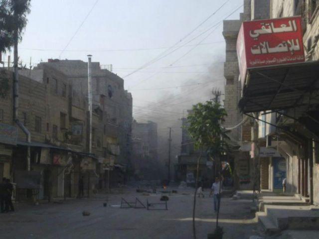 Συρία: Άρματα μάχης σε συνοικία της Δαμασκού   tanea.gr