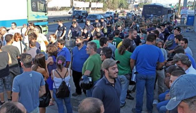 Αναστολή της απεργίας αποφάσισαν οι εργαζόμενοι στη Χαλυβουργία   tanea.gr