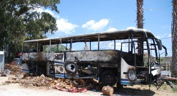 Χαλκιδική: Τουριστικό λεωφορείο έπιασε φωτιά   tanea.gr
