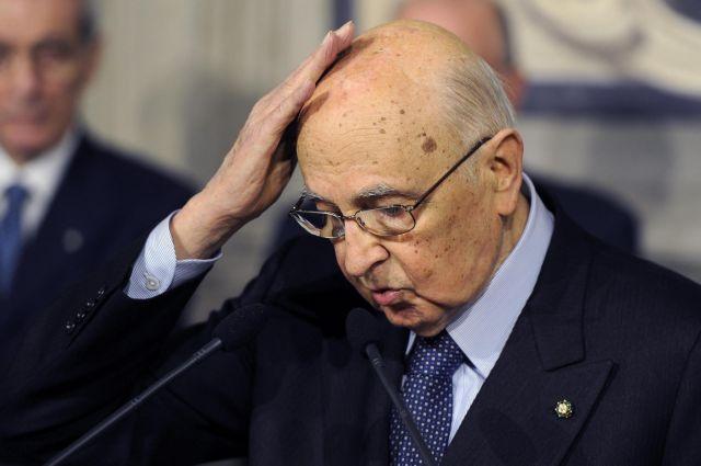 Ακαρπες οι προσπάθειες του Ναπολιτάνο για σχηματισμό κυβέρνησης στην Ιταλία | tanea.gr