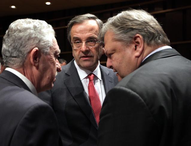 Στην οικία Σαμαρά μυστική συνάντηση των τριών αρχηγών για τις κυπριακές τράπεζες   tanea.gr