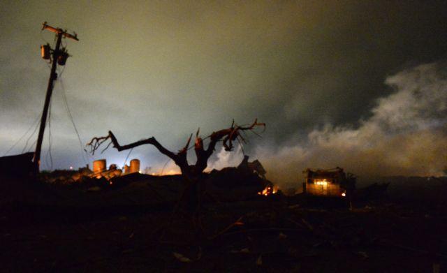 Σεισμό 2,1 βαθμών Ρίχτερ προκάλεσε η έκρηξη στο Τέξας | tanea.gr