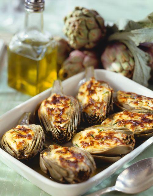 Αγκινάρες στον φούρνο με γιαούρτι | tanea.gr
