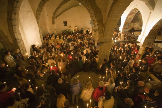 Αναπαράσταση της τελετής του Νιπτήρος | tanea.gr
