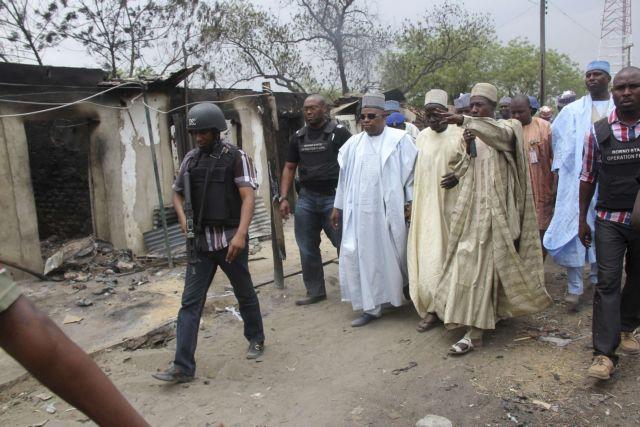 Μάχες ισλαμιστών με τον στρατό της Νιγηρίας   tanea.gr
