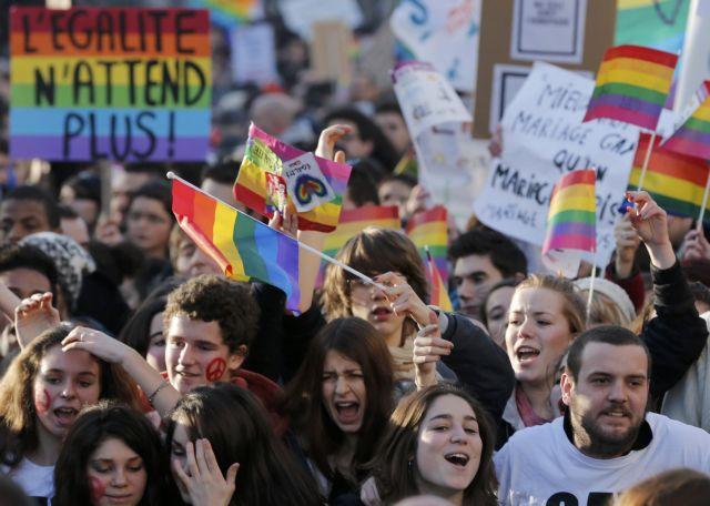 Στις 23 Απριλίου η γαλλική Εθνοσυνέλευση αποφασίζει για τους γάμους των ομοφυλοφίλων   tanea.gr