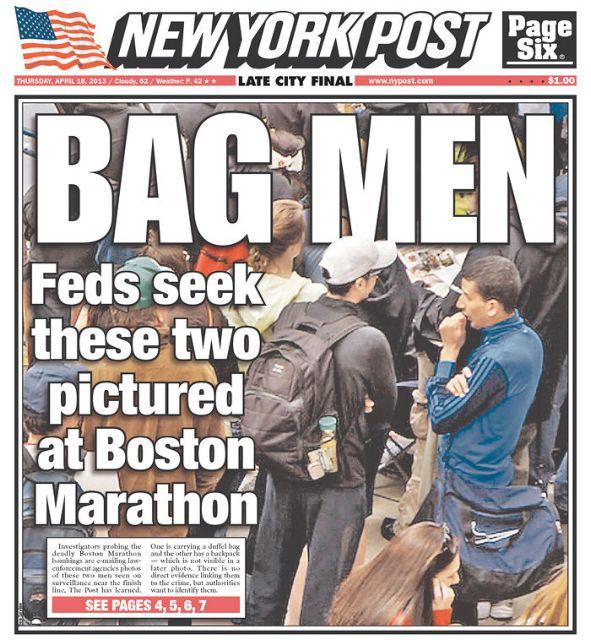 Σάλος με τις φωτογραφίες «υπόπτων» που δημοσίευσε η New York Post | tanea.gr