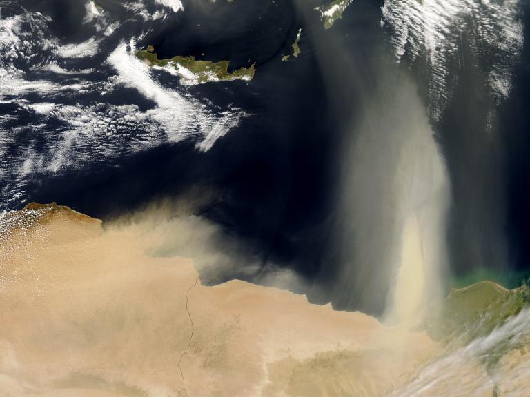 Η επέλαση της αφρικανικής σκόνης στην Ελλάδα | tanea.gr