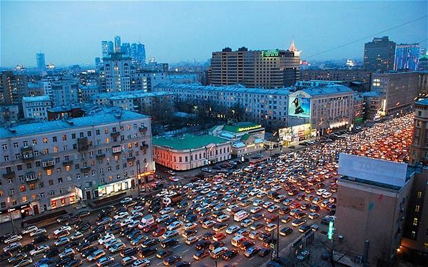 H Mόσχα είναι η παγκόσμια πρωτεύουσα του μποτιλιαρίσματος   tanea.gr