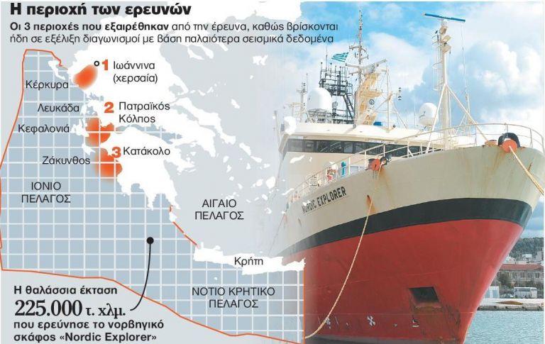 Μύρισε πετρέλαιο σε Ιόνιο - Κρήτη | tanea.gr