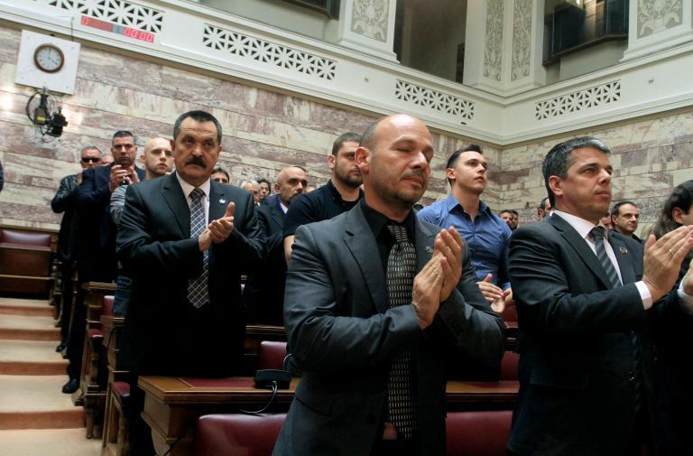 Από το «εγέρθητου!» στην επίθεση στον Καμίνη: ένας χρόνος Χρυσή Αυγή   tanea.gr