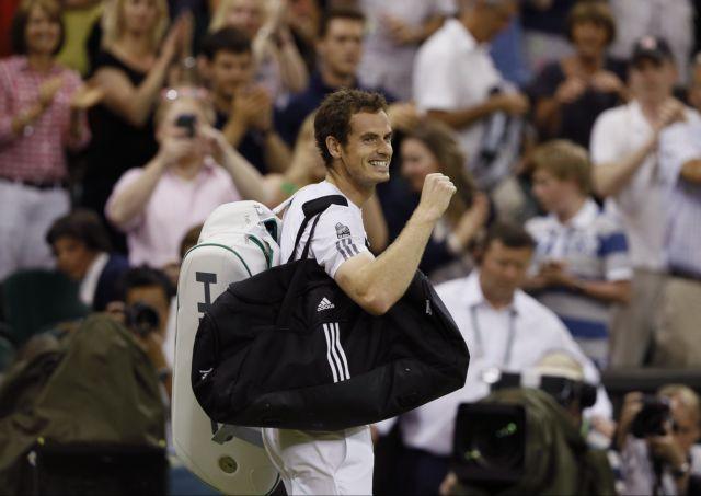 Ο Μάρεϊ προκρίθηκε για δεύτερη συνεχόμενη χρονιά στον τελικό του Γουίμπλεντον | tanea.gr