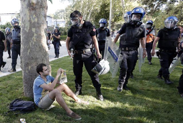 Οι Αρχές ξαναέκλεισαν άρον άρον το Πάρκο Γκεζί στην Τουρκία   tanea.gr