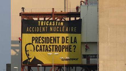 Εισβολή της Greenpeace σε γαλλικό πυρηνικό σταθμό   tanea.gr