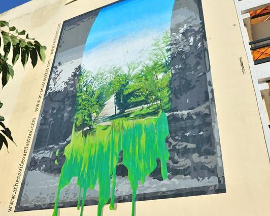 Εικαστικές παρεμβάσεις εθελοντών και καλλιτεχνών ομορφαίνουν την Αθήνα   tanea.gr