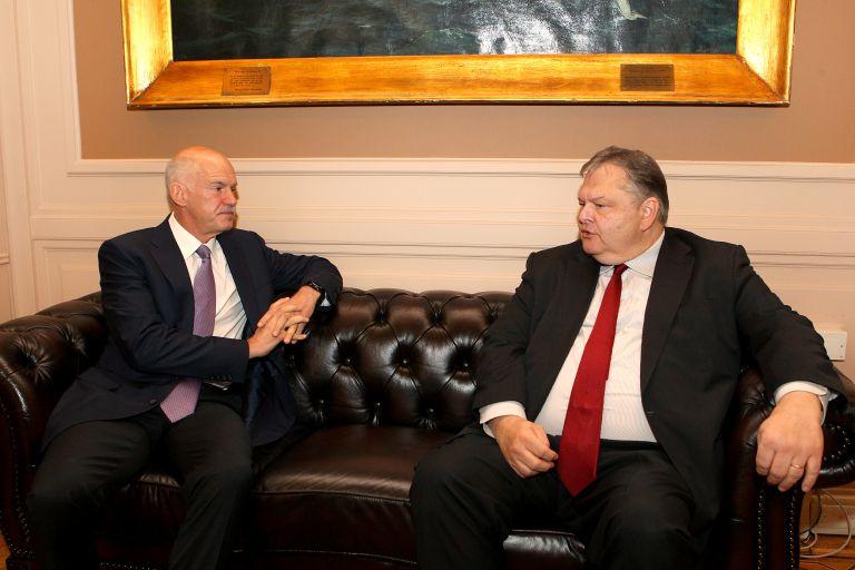 Σε καλό κλίμα η συνάντηση του Γιώργου Παπανδρέου με τον Βαγγέλη Βενιζέλο   tanea.gr