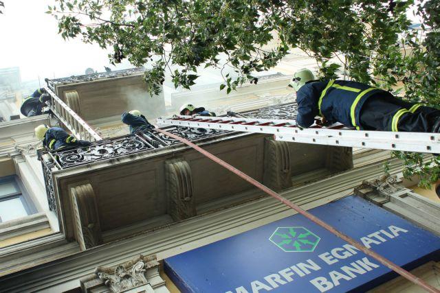 Βαριές καμπάνες με αναστολή σε τρία στελέχη για την πυρκαγιά στη Marfin   tanea.gr