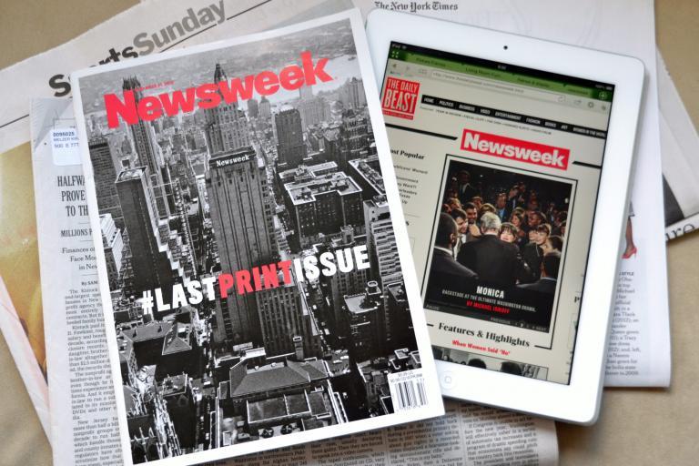 Σε εταιρεία ψηφιακών μέσων πωλήθηκε o ιστορικός τίτλος του Newsweek | tanea.gr