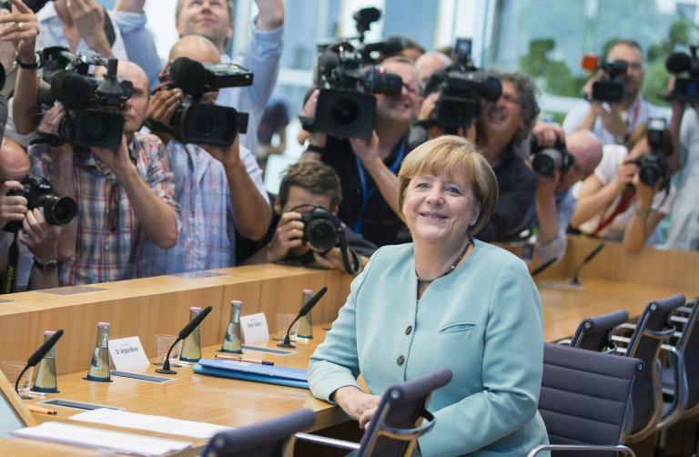 Μέρκελ: «Εαν εκλεγώ θα εξαντλήσω την τετραετία» | tanea.gr
