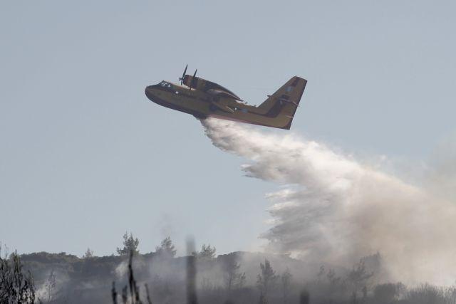 Σε ύφεση οι φωτιές στην Ανδρο και την Ηλεία   tanea.gr