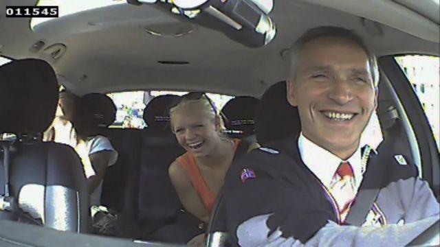 Επιλεγμένοι με ...κάστινγκ οι επιβάτες στο ταξί του πρωθυπουργού της Νορβηγίας! | tanea.gr