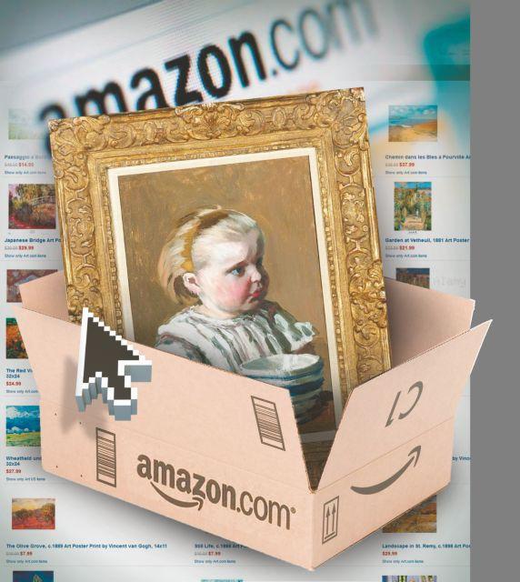 Στο Amazon αγοράζεις πλέον...Μονέ με ένα κλικ! | tanea.gr