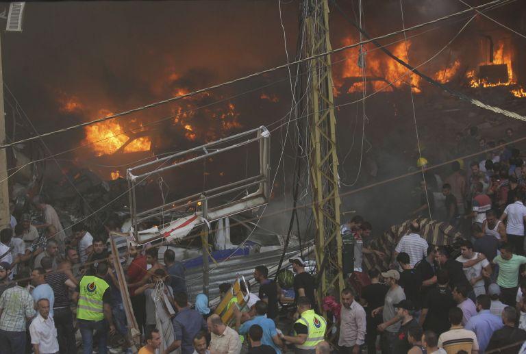 Πληροφορίες για 20 νεκρούς από ισχυρή έκρηξη σε περιοχή προπύργιο της Χεζμπολάχ στη Βυρηττό | tanea.gr