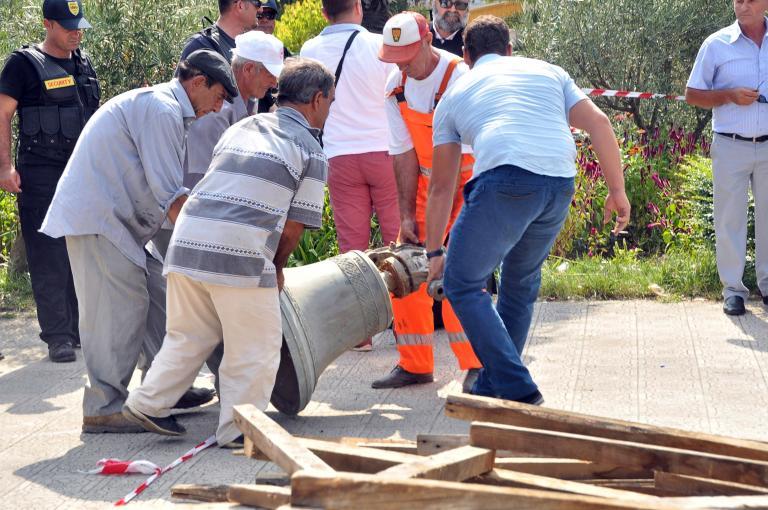 Ενταση στις σχέσεις Αθήνας-Τιράνων για την βίαιη κατάσχεση του ορθόδοξου ναού στην Πρεμετή   tanea.gr