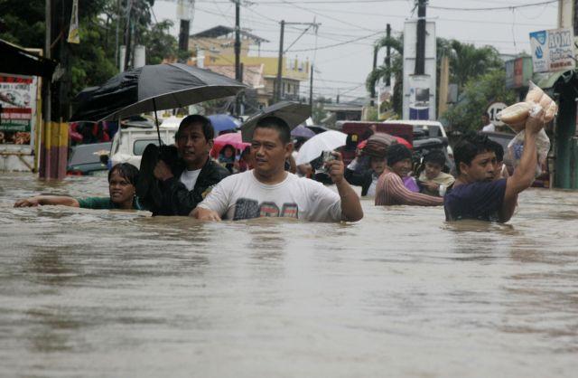 Επτά νεκροί από τις πλημμύρες στη Μανίλα | tanea.gr