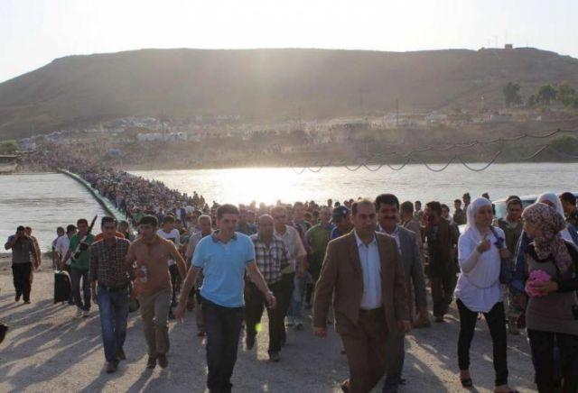 Γέφυρα σωτηρίας για τους πρόσφυγες από το Χαλέπι | tanea.gr