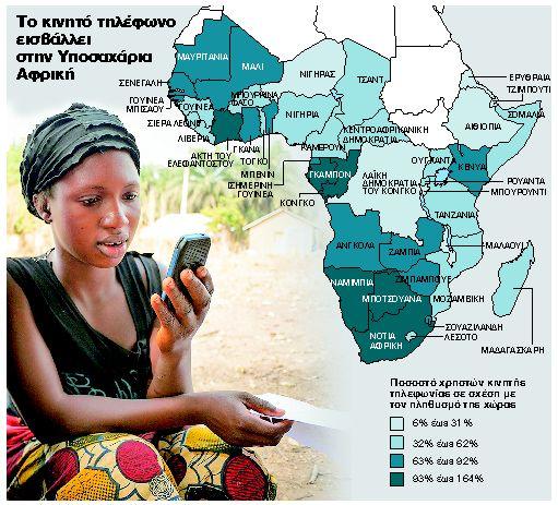 Παράδεισος για τις εταιρείες κινητής τηλεφωνίας η Αφρική | tanea.gr