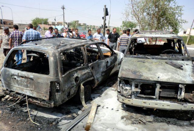 Τους 71 έφθασαν οι νεκροί από το μπαράζ βομβιστικών επιθέσεων στη Βαγδάτη | tanea.gr