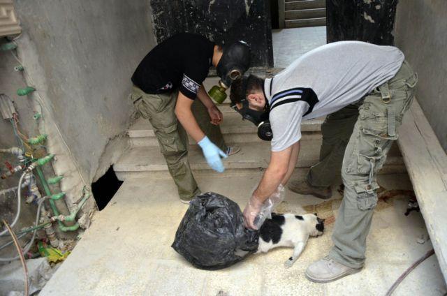 Στο «μικροσκόπιο» των επιθεωρητών του ΟΗΕ δείγματα ιστών και οπτικό υλικό από τη Συρία | tanea.gr