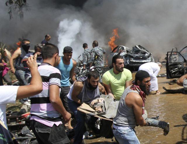 Τουλάχιστον 43 νεκροί και 500 τραυματίες από δύο επιθέσεις σε σουνιτικά τεμένη στον Λίβανο | tanea.gr